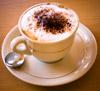 En kop Cappuccino