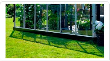 Drivhussokkel til Juliana Premium 10,9 m2 drivhus
