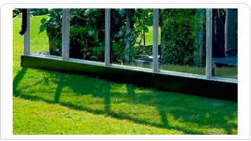 Drivhussokkel til Juliana Premium 13,0 m2 drivhus