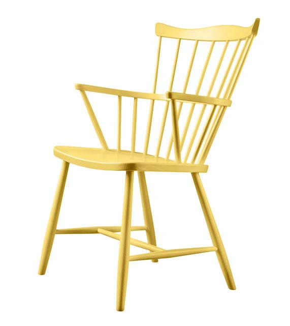FDB møbler - J52 gul vinkel