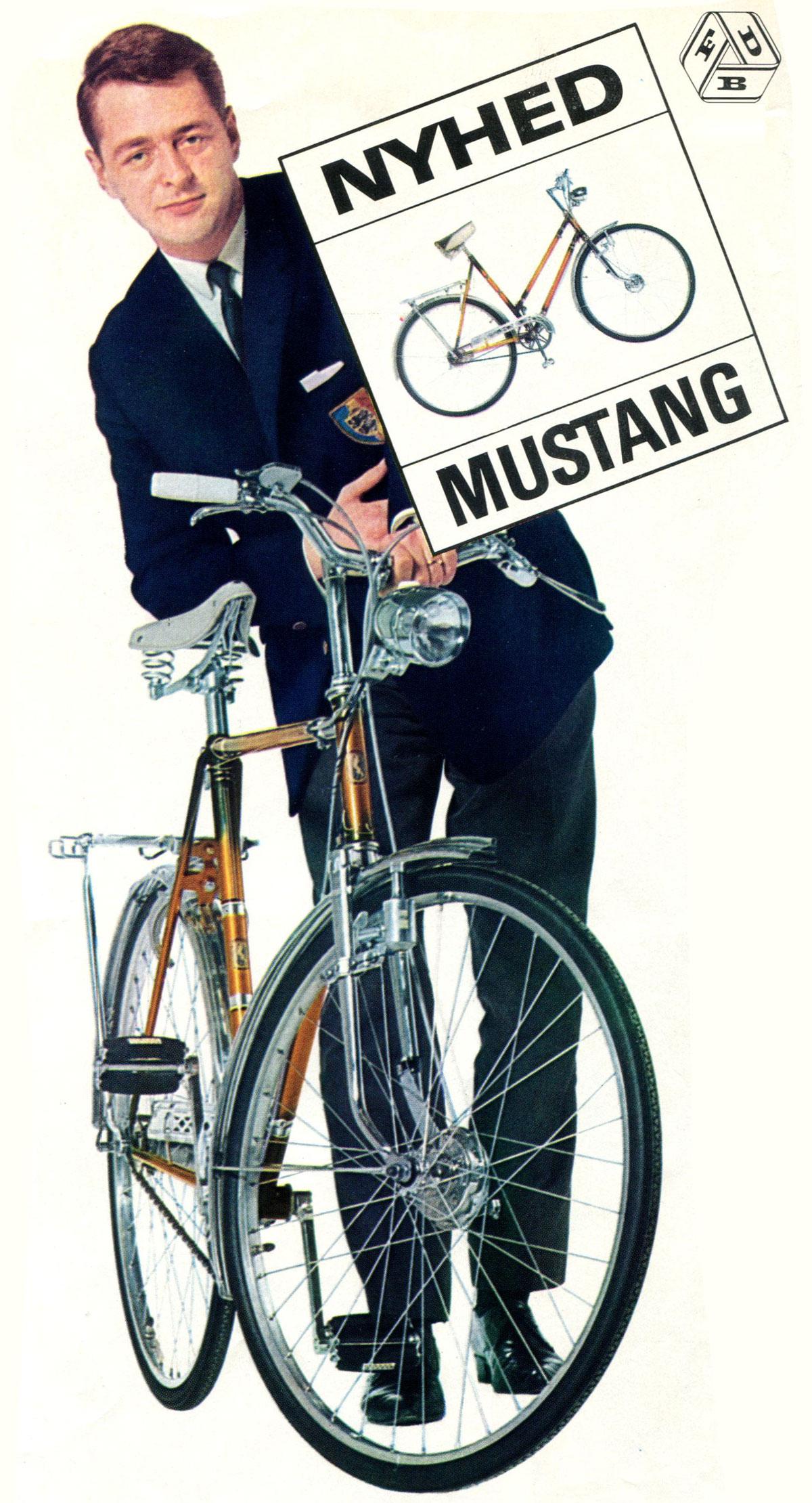 Retro cykelbillede 1 - Mustang Cykler