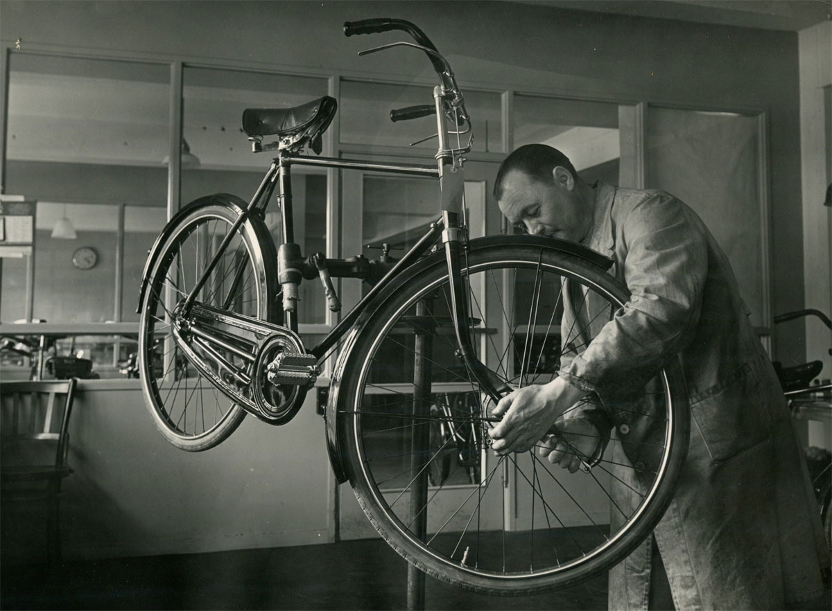 Retro cykel fra Mustang - Billede 5