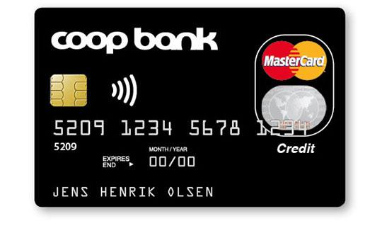 Coop Bank MasterCard