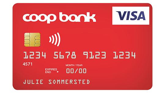 Coop Bank Visa Dankort