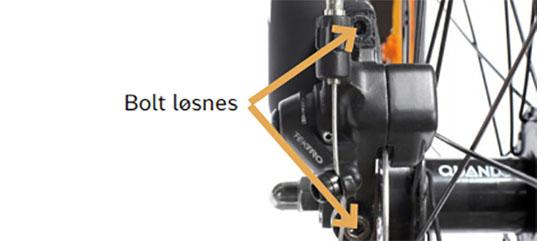 Vedligeholdelse af skivebremser på Mustang cykel