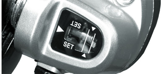 Justering af Nexus tre gear på Mustang cykel