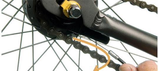 Afmontering af gearkabel