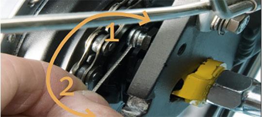 Montering af kabelholder